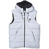 Reebok Men's Classics Vest Jacket (Blue/Black)