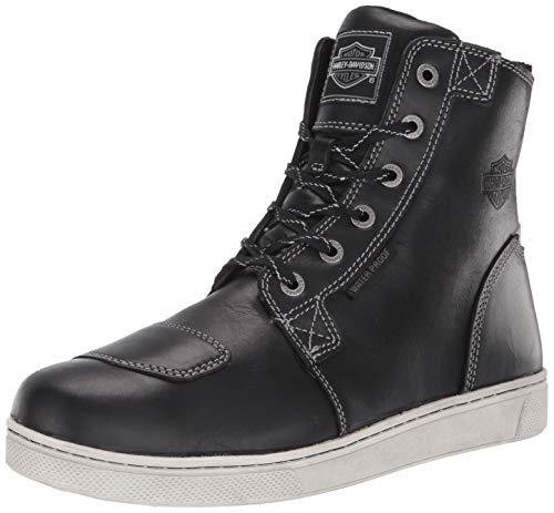 HARLEY-DAVIDSON FOOTWEAR Men's Steinman Sneaker, Black, 8 M US