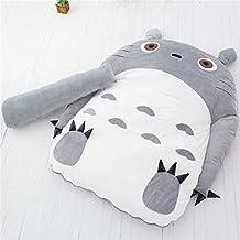 Totoro Tatami Mattress Sleeping Pad Cartoon Tatami Bedroom Folding Sofa Sleeping Bag Adult and Kids Beanbag Chair Mattress...