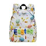 Zaino da viaggio per zaino da scuola, piccolo e leggero, per ragazzo, uova di Pasqua inglesi