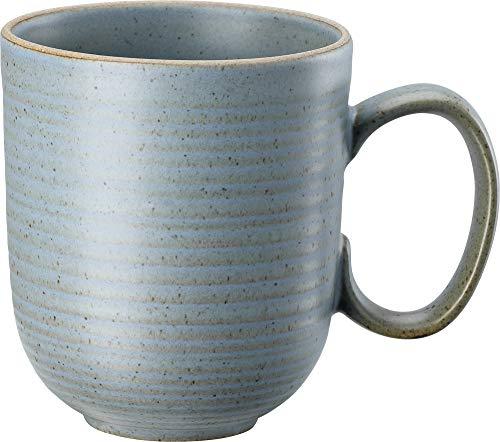 Thomas Rosenthal Nature - Water - Becher mit Henkel/Henkelbecher/Kaffeebecher - Steinzeug - blau - 400 ml