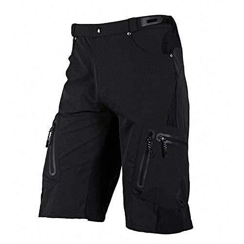 Fitsund Herren MTB Shorts Atmungsaktiv Kurze Fahrrad Hose Radhose Ohne Sitzpolster