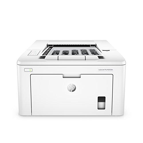 HP LaserJet Pro M203dn Laserdrucker (Schwarzweiß Drucker, LAN, Airprint) weiß