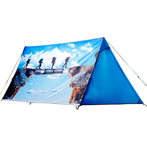 HUIYAN Tiendas de campaña Pop-triángulo Carpas Impermeables   2-3 Personas Tienda De La Familia De Luz   Muy Adecuado For La Playa, Al Aire Libre, Viajes, Caminatas, Camping, Caza, Pesca