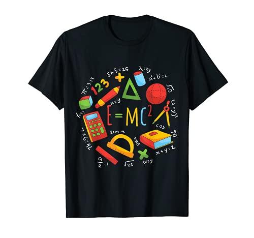 E=mc2 Ecuación Minimalista Único Relatividad Ciencia Física Camiseta