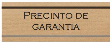 250 Etiquetas adhesivas kraft ¨Precinto de garantía¨