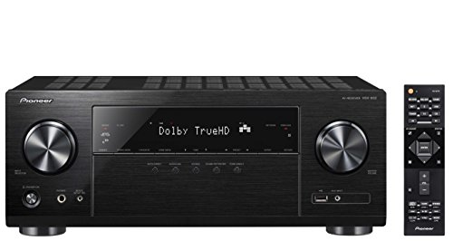 Pioneer VSX-832(B) 5.1 Channel AV Receiver (Hifi Amplifier 130 Watt/Channel, Multiroom, Wifi,...
