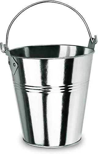 GFTIME Parrilla de pellets de Madera para Goteo de Grasa, Piezas de Repuesto para Parrilla/ahumador - Traeger HDW152 & Pit Boss & Camp Chef BBQ Grills Cubeta de Acero galvanizado con asa