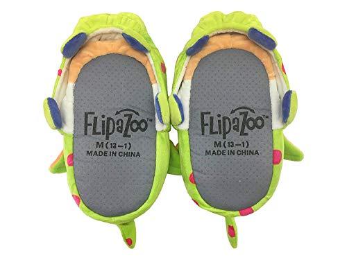 Flipazoo AS SEEN ON TV Slippers Unicorn Transforming, Unicorn/Dragon, Size 4.0
