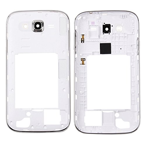 DINGGUANGHE-CELL PHONE ACCESSORIES High-end Best Replacement Parts Compatible with Samsung Galaxy Grand Plus / I9060i Middle Frame Bezel/Back Plate Housing Camera Lens Panel