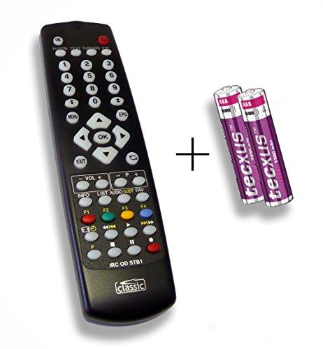 Ersatzfernbedienung speziell für HUMAX DVR-9900C DLZE®-Edition inkl. Batterien