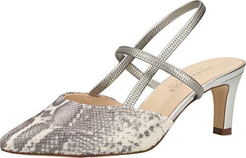 Peter Kaiser Mitty Womens Open Court Shoes 38.5 EU 770. Storm Duna/SIL