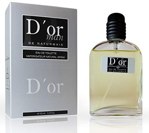 D'Or Eau De Parfum Intense 100 ml, Parfum Générique Homme. Compatible avec Diore Homme