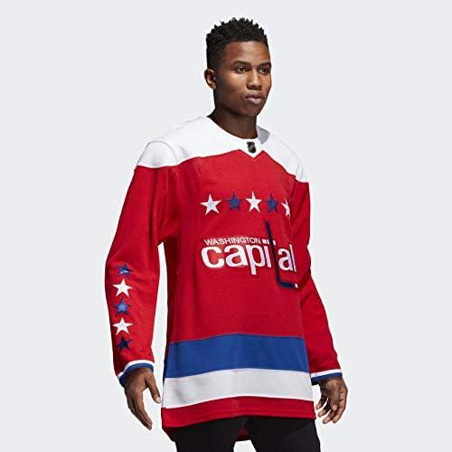 adidas Washington Capitals NHL Men's Climalite Authentic Alternate Hockey Jersey