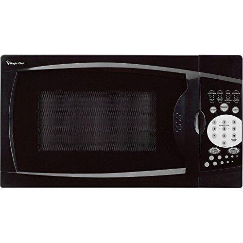 Magic Chef 0.7 Cu. Ft. 1000W Black Countertop Microwave Oven. 7
