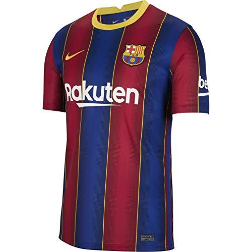 Nike Herren Trikot FC Barcelona Stadium Home, Deep Royal Blue/Varsity Maize, L, CD4232-456