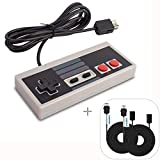 NES Controller Usb WADEO Nintendo Classic Mini Edition Controller mit SNES Mini Verlängerungskabel...
