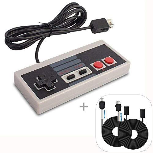 WADEO Nintendo Clásica, NES Mimi Classic Mando Controlador de Juegos Consolas con...