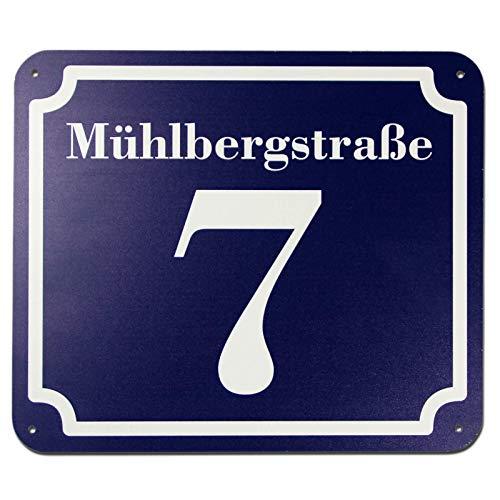 KDS blaues und Straße Schild 2mm Bild