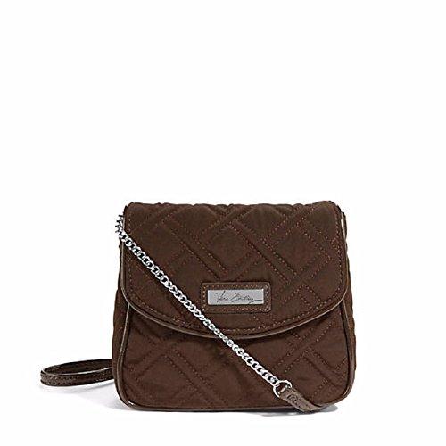 Vera Bradley Chain Strap Crossbody bag in Espresso