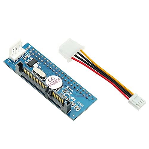 IDE a Serial ATA SATA 3.5 pulgadas HDD Adaptador Convertidor paralelo a Serial Disco Duro SATA IDE Convertidor 40Pin a 7Pin