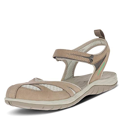 Merrell Siren Wrap Q2 Sandalias de Senderismo Mujer, Marrón (Brindle Brindle), 37 EU