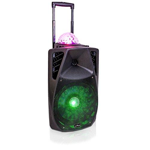 PARTY LIGHT & SOUND PARTY-15LED ASTRO Tragbares Akku Soundsystem mit USB/SD MP3 Player