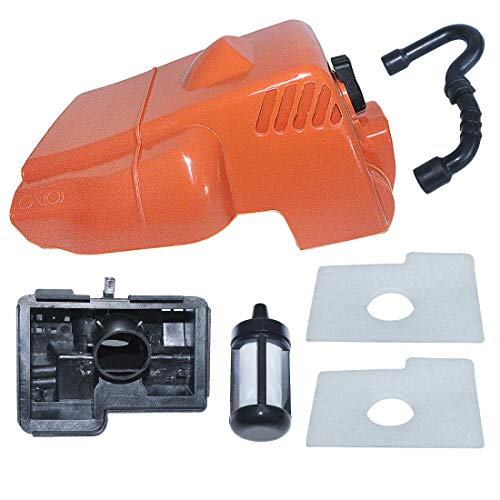 AUMEL Top Cylinder Engine Cover Air Filter w/Housing Kit for Stihl MS180 MS170 018 017 Chainsaw Replace 1130 140 4709.