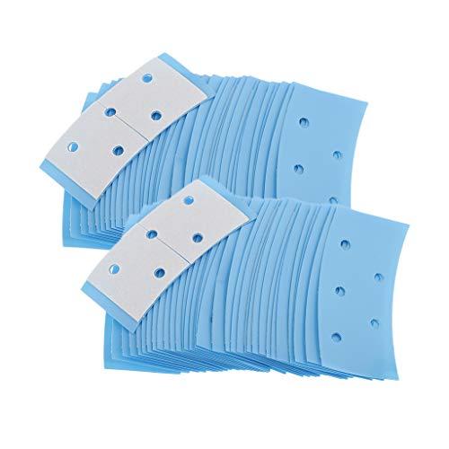 yotijar 72x Système Capillaire Double Face Sticks Bandes Adhésives Imperméables Respirantes