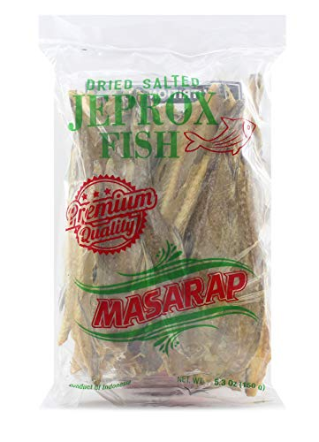 Masarap Dried Salted Jeprox | Tuyo | Daing Fish, 150 g (Pack of 1)