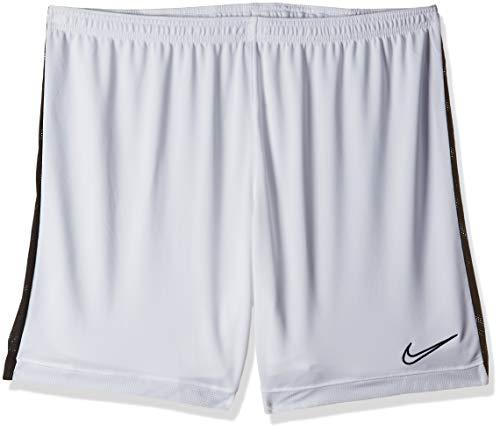 Nike Herren M NK Dry ACDMY K Shorts, White/Black, 2XL