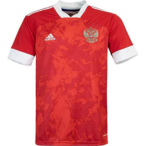 adidas Russia Russland Trikot Home (M, red/White)
