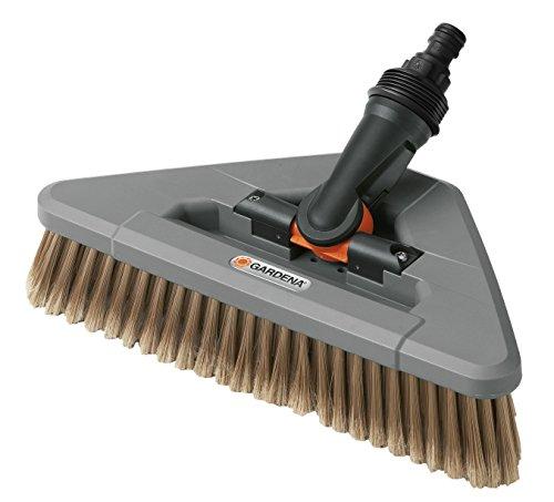 Gardena Gelenk-Waschbürste: Reinigungsbürste mit Gelenk für das Cleansystem, zur Reinigung schwer erreichbarer und empfindlicher Bereiche (5560-20)