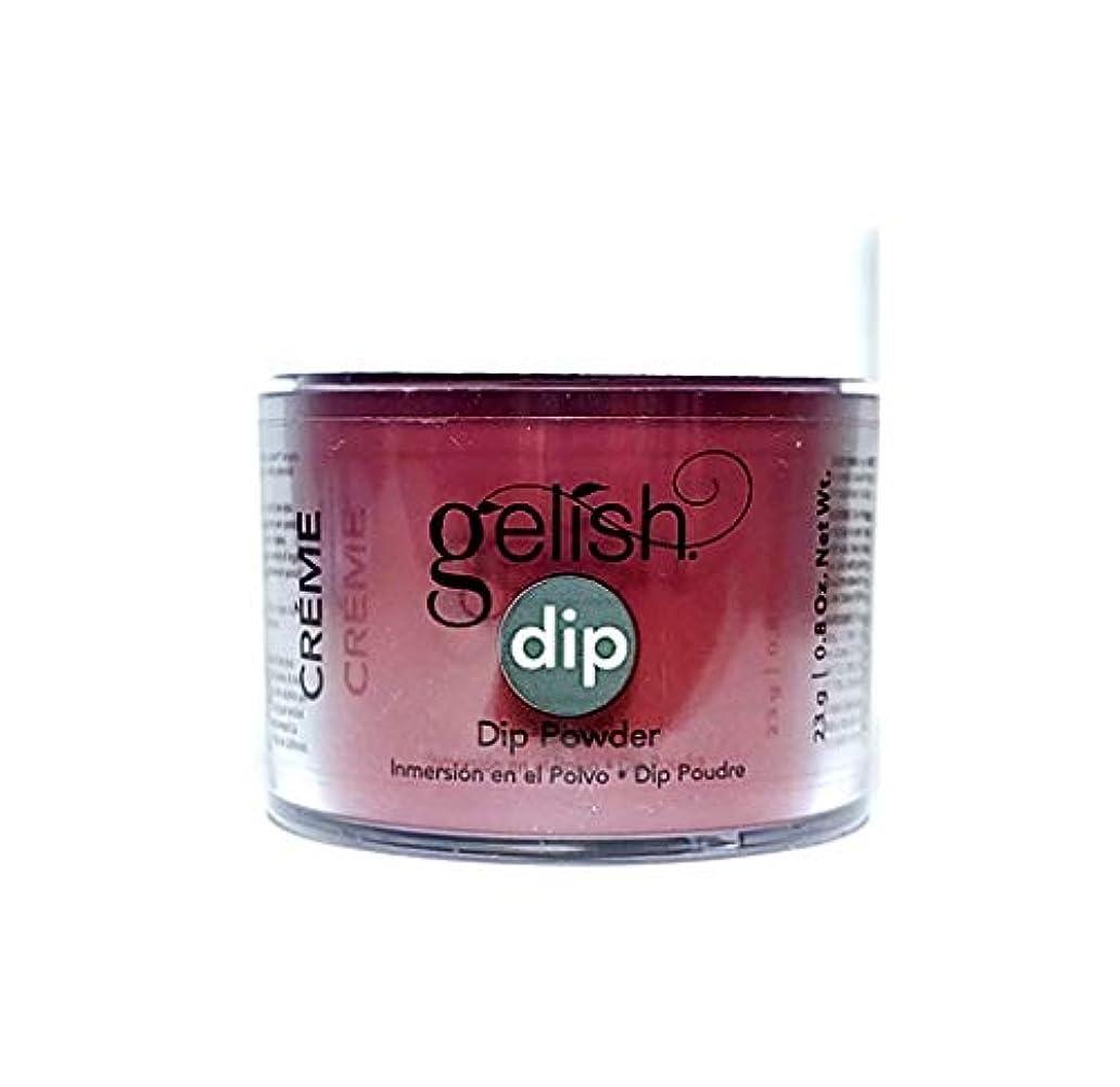 橋脚未使用優先権Harmony Gelish - Dip Powder - Red Alert - 23g / 0.8oz