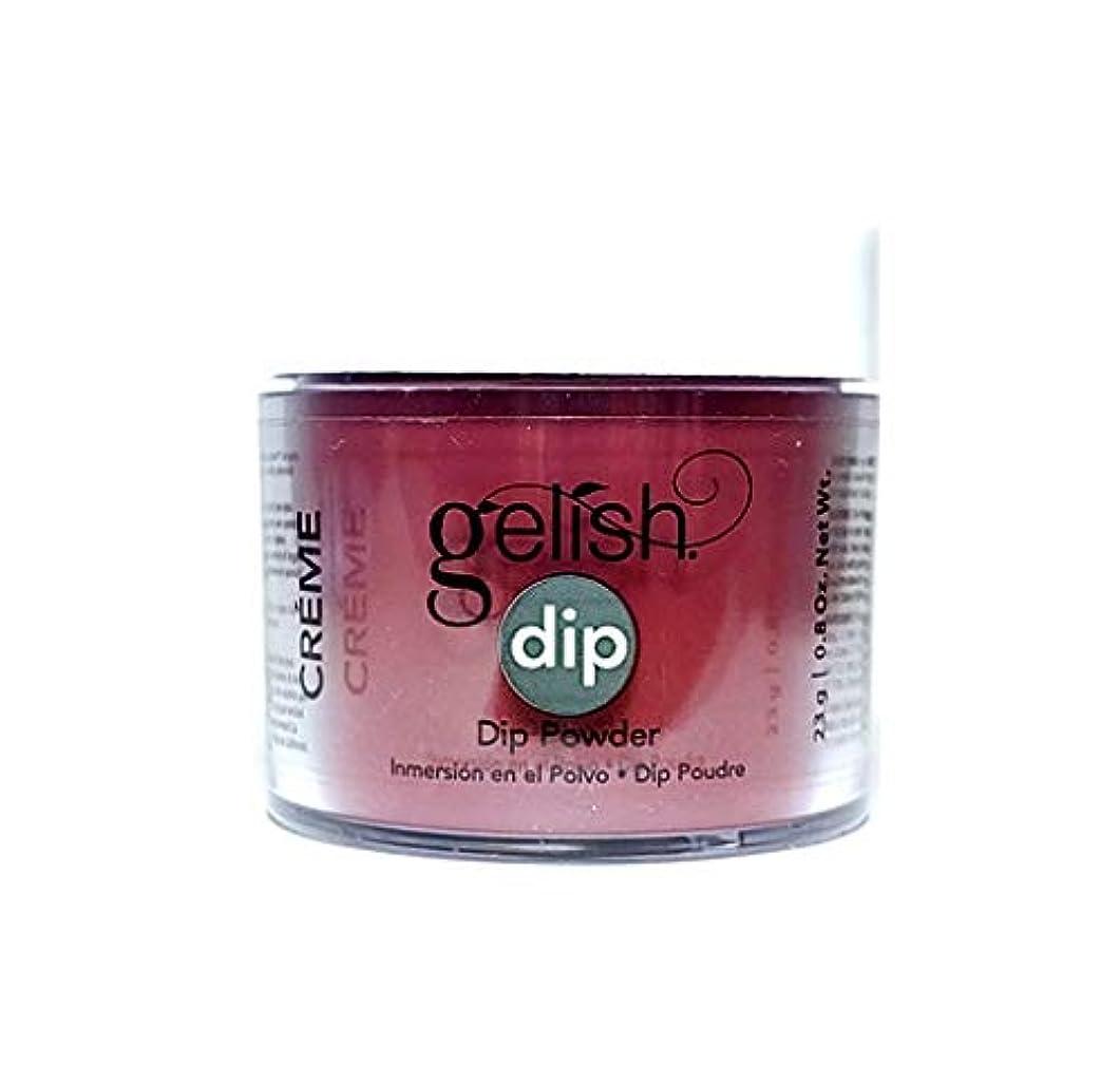 今までベルベットワックスHarmony Gelish - Dip Powder - Red Alert - 23g / 0.8oz