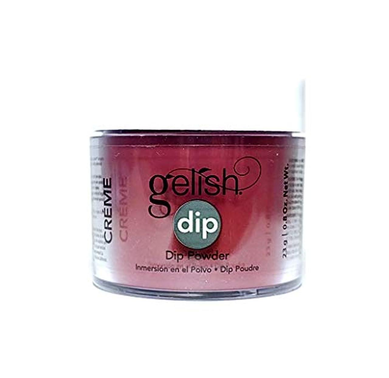 時々時々側面毎年Harmony Gelish - Dip Powder - Red Alert - 23g / 0.8oz