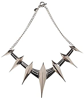 Black Panther Spike Cosplay Collar Necklace Standard