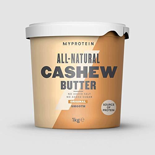 Myprotein Natural Cashew Butter Unflavoured, 1er Pack (1 x 1 kg)