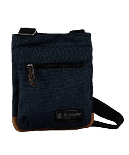 Mini sac à bandoulière Invicta, Mini Shoulder, Bleu Rouge, Loisirs & Casual