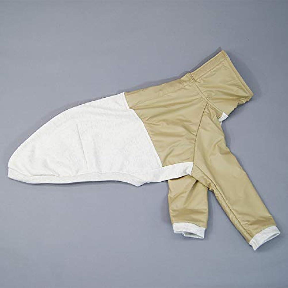 閃光希少性前者ベルクロオープンTシャツ型紙 ばらばら印刷 胴長小型犬S~M