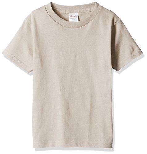 プリントスター 半袖 5.6オンス へヴィー ウェイト Tシャツ 00085-CVT キッズ シルバーグレー 日本サイズ 110cm
