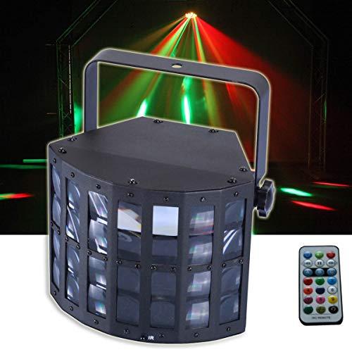 E-Lektron DERBY-9W mini RGB LED Strahler Farbwechsler Musiktakt gesteuert