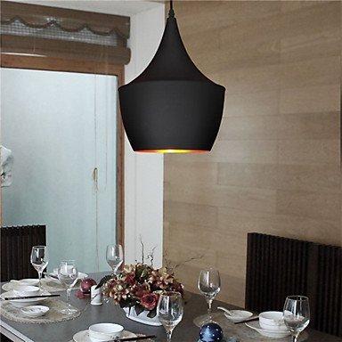 L-S Moderne Kronleuchter Deckenleuchten Anhänger Retro Vintage Black White 60W Lampe B-Games Room und Cafe Esszimmer Kronleuchter 3C Ce FCC Rohs für Wohnzimmer Schlafzimmer