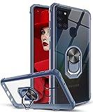 LeYi für Samsung Galaxy A21S Hülle mit Panzerglas
