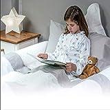 Banbaloo – Sicherheitsgeländer Kinderbett/Bettgitter Absturzsicherung-transportabel,Kantenschutz für Kinderbetten, Schaumstoff, Perfekt für 180 cm, 150 cm, 90cm und Montessori-Betten. - 3