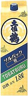 土佐鶴 ツルパック 青 [ 日本酒 高知県 1800ml ]
