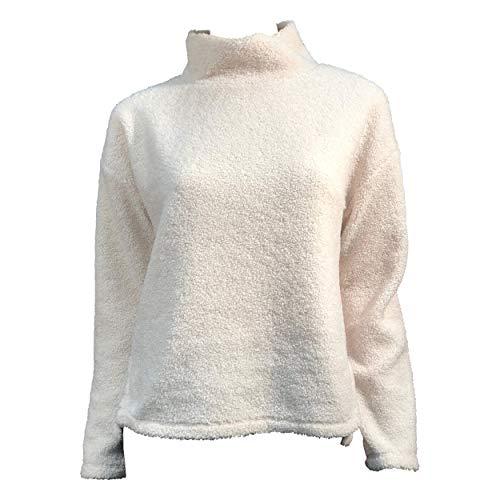 OPUS Damen Gabri Sweatshirt, Soft Cream, 38