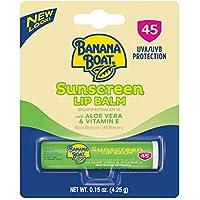 Banana Boat Aloe Vera Lip Protection Sunscreen 0.15 Ounce