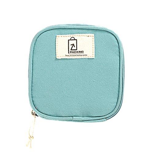OUNONA Bolso de Almacenamiento pequeño Travel Cosmetic Makeup Neceser de Organizador del...