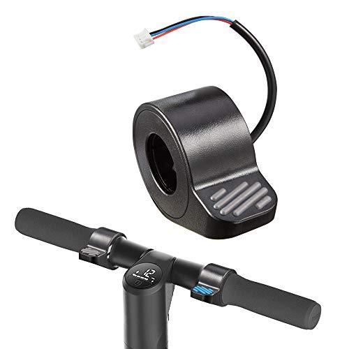 Atuka Frenos de scooter eléctrico Frenos prácticos para el manillar del pulgar Accesorios de scooter Frenos de dedo electrónicos Alternativas para Ninebot Scooters eléctricos plegables ES1/ES2/ES3/ES4